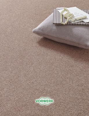 Roter Vorwerk Teppich