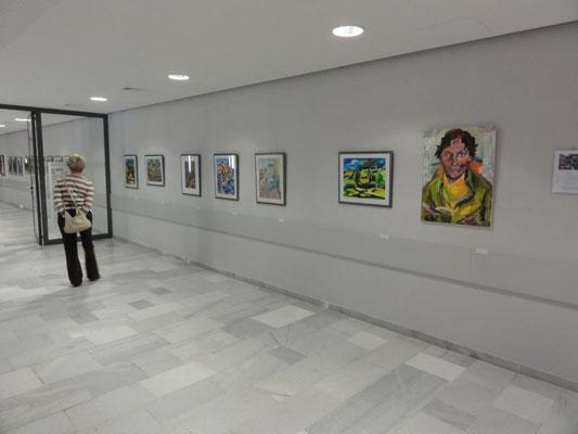 Neubrandenburg 2016: Ausstellung Erika Hartung
