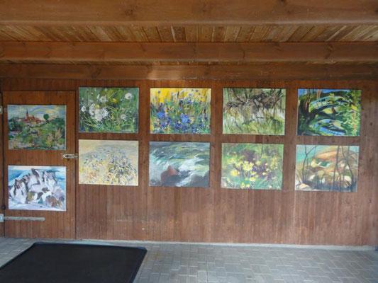 Kunst Offen, Atelier Erika Hartung