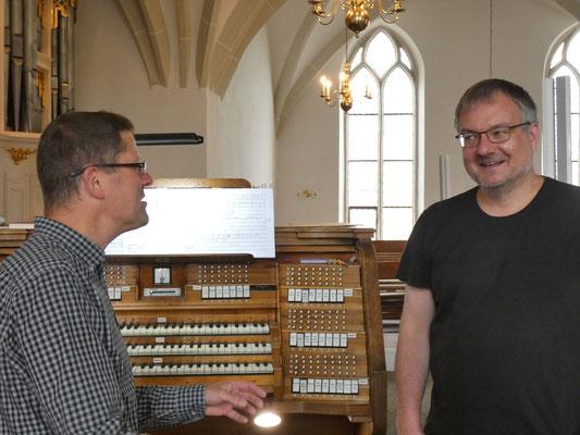 Heiko Brosig (links), Matthias Wamser