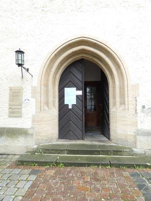 Johanniskirche Plauen Haupteingang