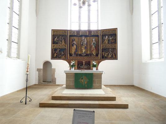 Johanniskirche Plauen Altar