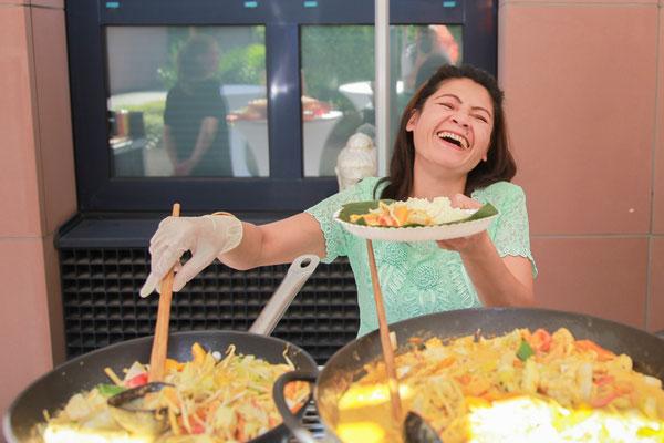 Leckeres Essen und gut gelauntes Personal