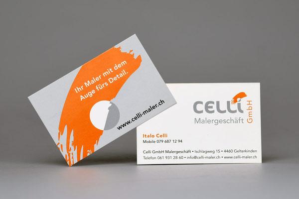 Celli Malergeschäft GmbH · Ihr Maler mit dem Auge fürs Detail