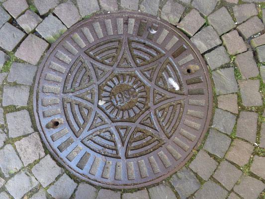 Deutschland, Celle, Gully-Deckel von 1932