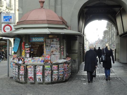 Kiosk am Zytglogge, Bern, Kanton Bern