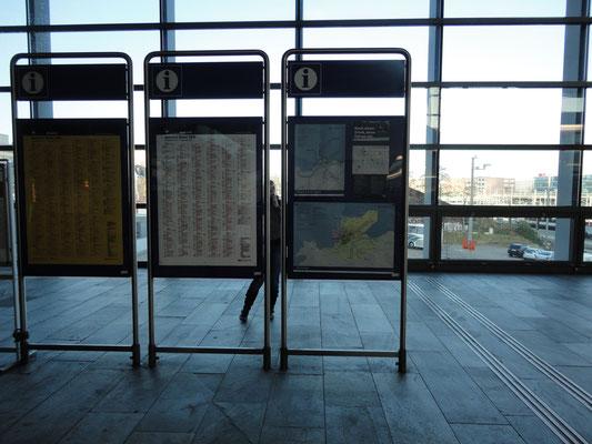Hauptbahnhof Basel, Kanton Basel