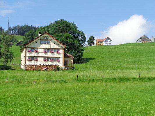 Appenzellerhaus, Kanton Appenzell