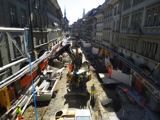 Bern, Erneuerung Gerechtigkeitsgasse 2013, Kanton Bern