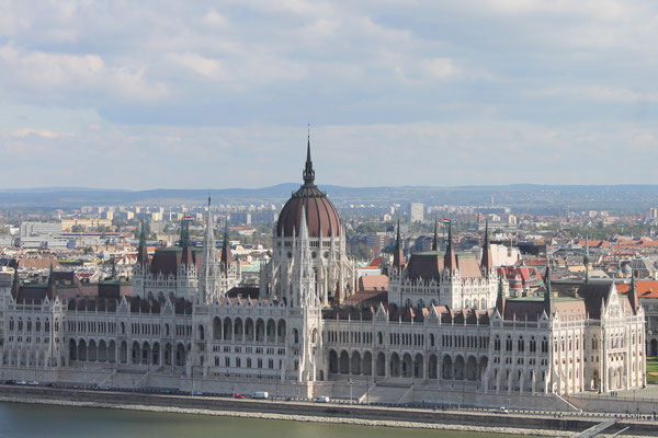 Parlamentsgebäude Budapest, Ungarn