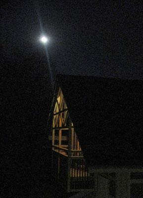 Vollmondnacht, Worb, Kanton Bern