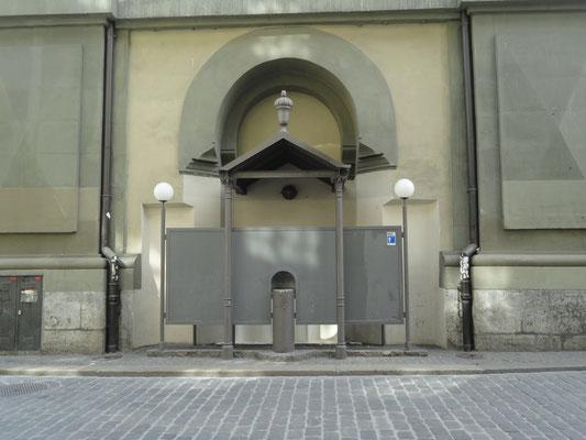 Bern, Öffentliches Pisoar, Kanton Bern