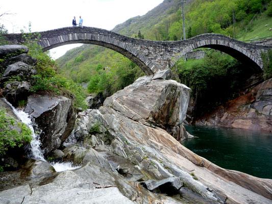 Versazca, Ponte dei Salti, Kanton Tessin