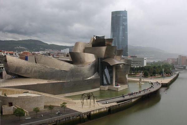 Spanien, Bilbao, Guggenheim Museum, Architekt: Frank O. Gehry