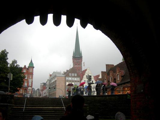 Hansestadt Lübeck, Blick durchs Holstentor