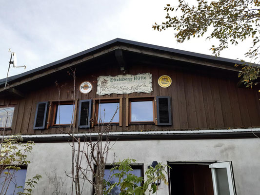 Giebel von Siggis Hütte