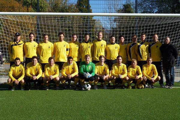 28.10.2012: 2. Mannschaft vor ihrem Spiel gegen SV Borbeck II.