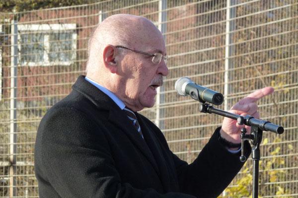 Der dritte Redner: Bürgermeister Rudolf Jelinek