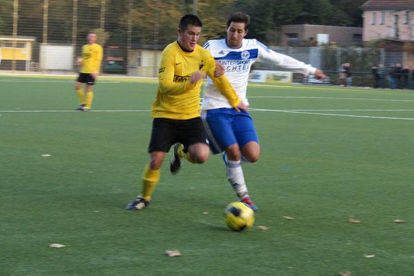 28.10.2012: 1. Mannschaft - SpVgg. Sterkrade 06/07 (Foto: r.f.).