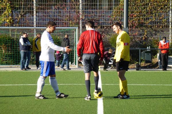 28.10.2012: Platzwahl, 1. Mannschaft - SpVgg. Sterkrade 06/07
