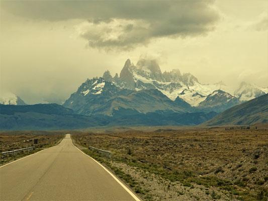 Cerro Fitz Roy im Hintergrund