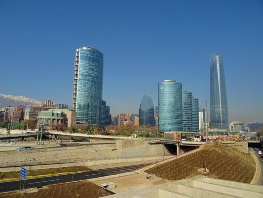 Durch Santiago de Chile