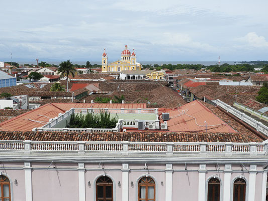 Viele Kolonialhäuser....