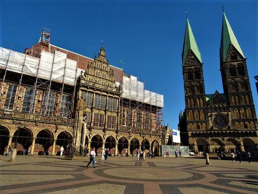 Dom und Rathaus (UNESCO) in Bremen