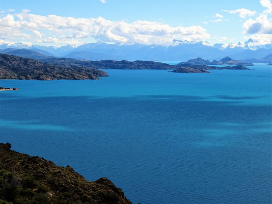 See mit südlichen Anden