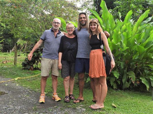 Bei Elena und Juan in Punta Uva
