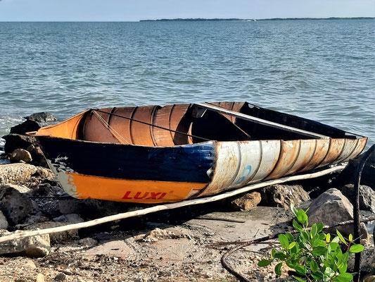Fischerboot Marke Eigenbau ;o)