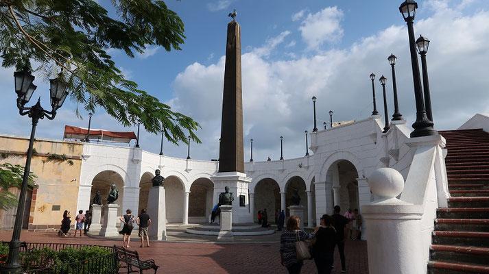 Denkmal für die Erbauer des Panama Kanals
