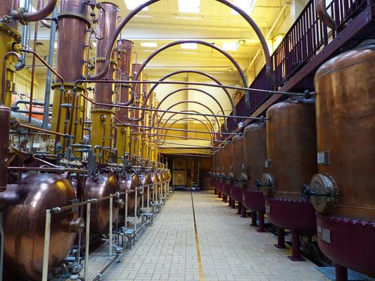 Das Destillieren....