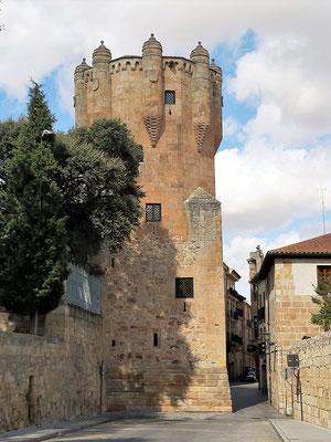 Verteidigungsturm Torre del Clavero - 1470 erbaut