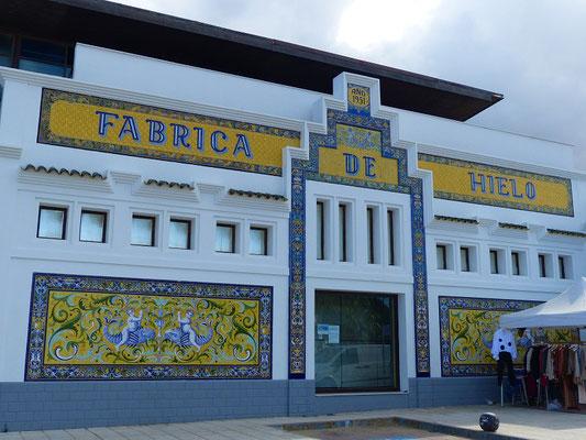Renovierte Eisfabrik