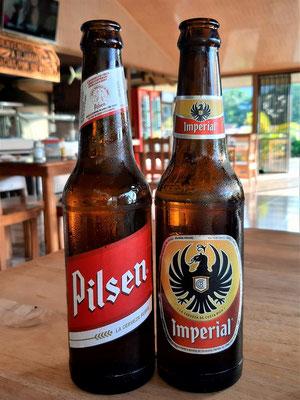 Die zwei National-Biere in Costa Rica