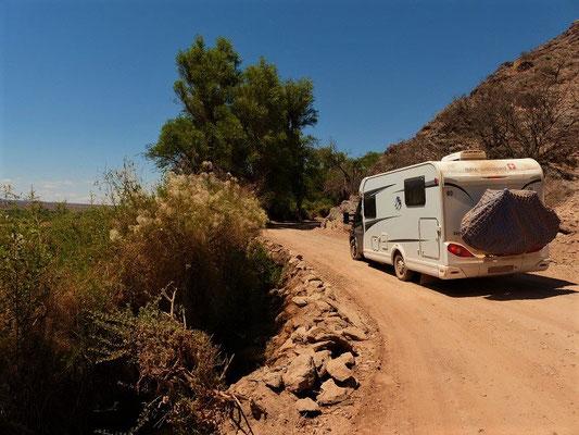 Auf der Fahrt zur Bodega Colomé
