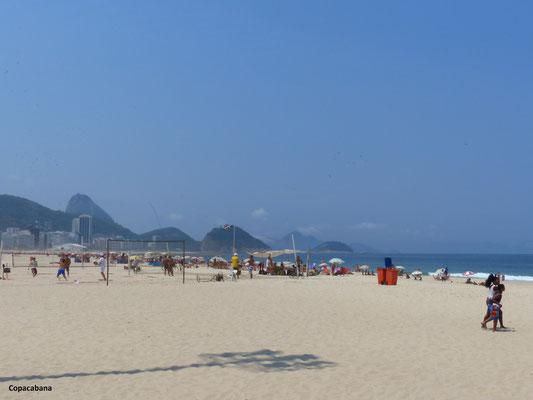 Letzter Blick auf die Copacabana