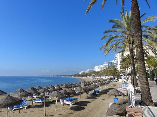 Strand von Marbella