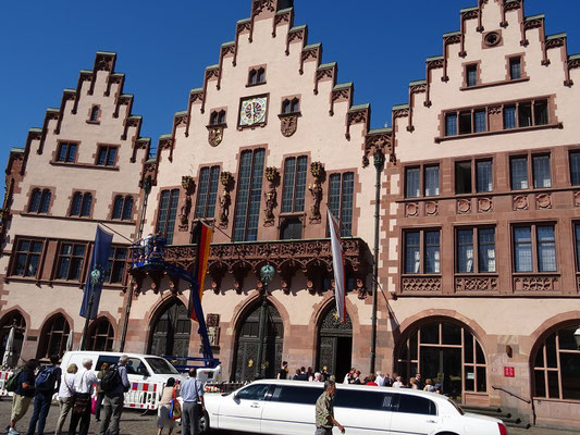 Das Rathaus von Frankfurt
