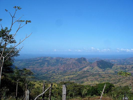 Fahrt über die Cordillera Central