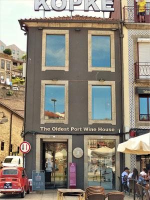 Kopke 1638 - Der älteste Portweinkeller