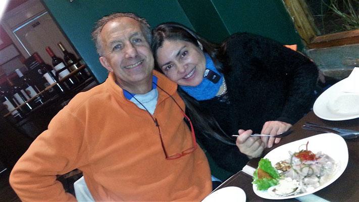 Ricardo und seine Lebensgefärtin Lorena