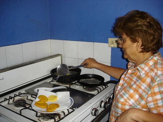 Zum Frühstück gibt's leckere Tortillas