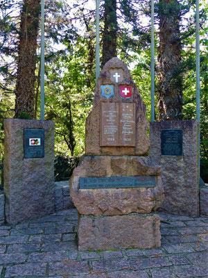 Denkmal für die Gründer von Helvetia 1888