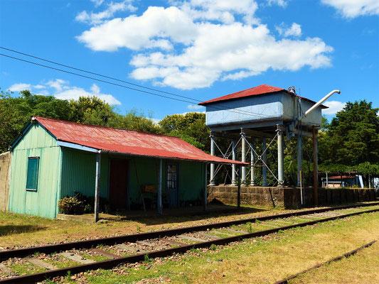 Alter Bahnhof im Valle Eden