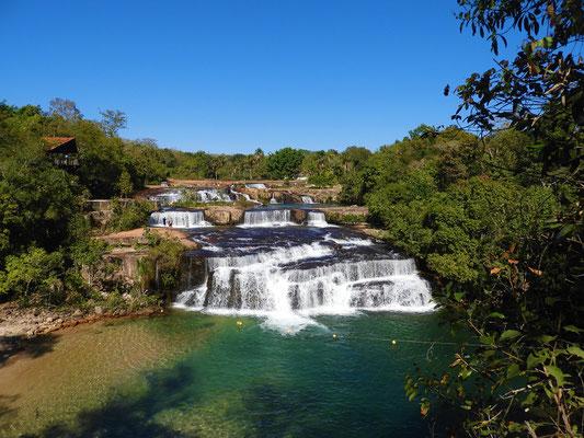 Rio Verde mit seinem 3-stufigen Wasserfall