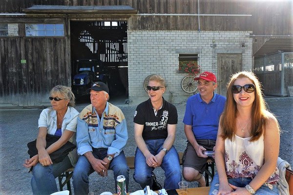 Claudia, Kari, Ramon, Roger und Petra