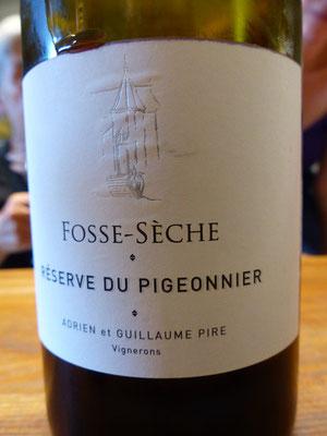 ....und das Flaggschiff von Fosse-Sèche - Cabernet Franc Sfr. 105.-