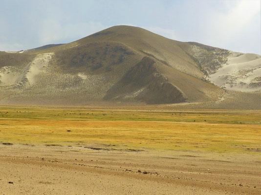 Sanddünen auf 3800 m